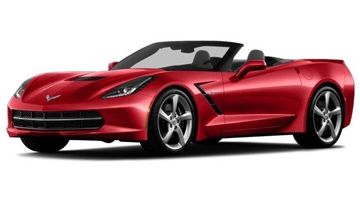 """C7"" Corvette Stingray Convertible"