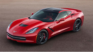 Corvette C7 Stingray Coupe. The Best Corvette produced ever! Hotter than the Arizona desert, the Corvette C7 will make your heart skip a beat.