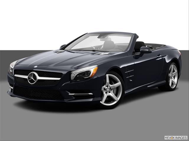 Mercedes SL550 Convertible