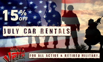 Rent A Vette Phoenix Supports Our Military