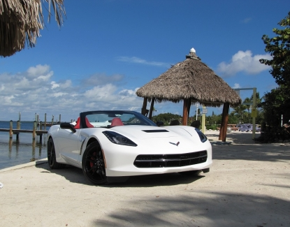 Drive with the wind in your hair in one of our Corvette rentals in Phoenix.