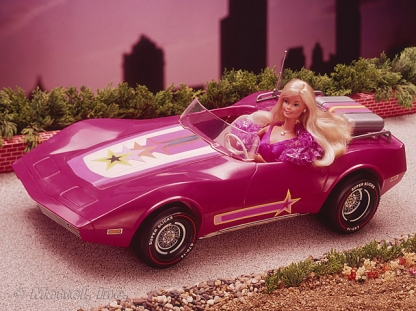 Barbie Corvette