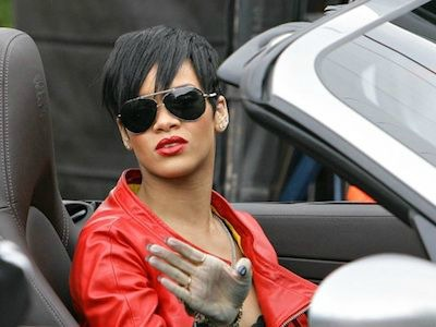 Rihanna The… Race Car Driver?