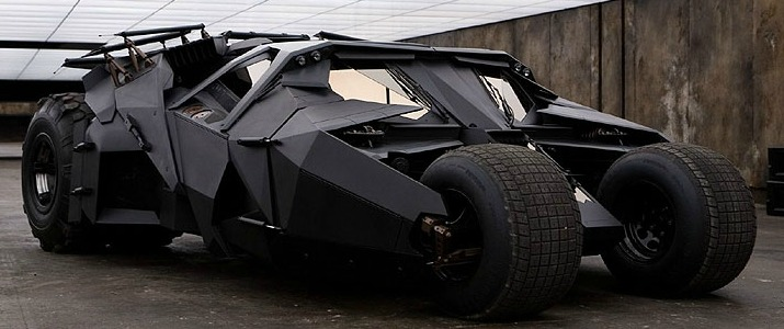 Dark Knight Trilogy Batmobile