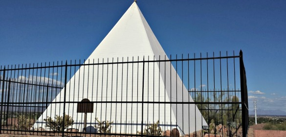 Governor Hunt's Pyramid Tomb, Phoenix