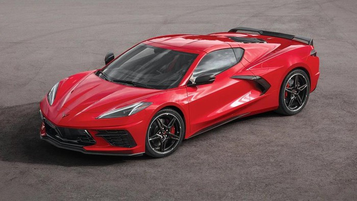 "Our 3rd ""C8"" 2020 Red Corvette will be coming soon!"